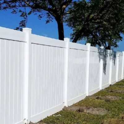 vinyl fence sales service installation fort lauderdale fl